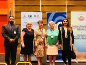 Ms. Kashmala Tariq along with Ombudsperson of Moscow, Tataristan and Azerbaijan